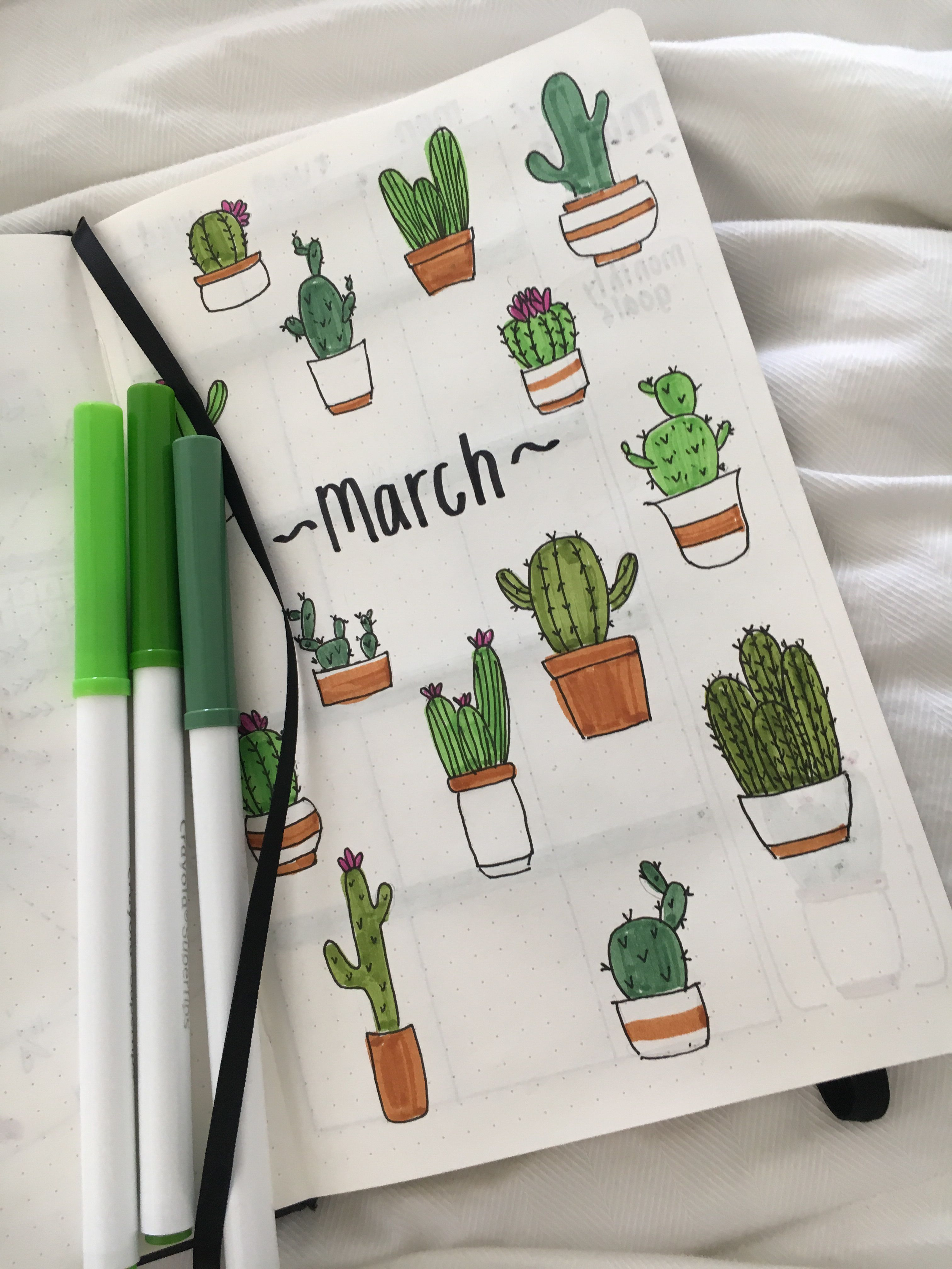 march cover page spread kalender pinterest ノート デザイン