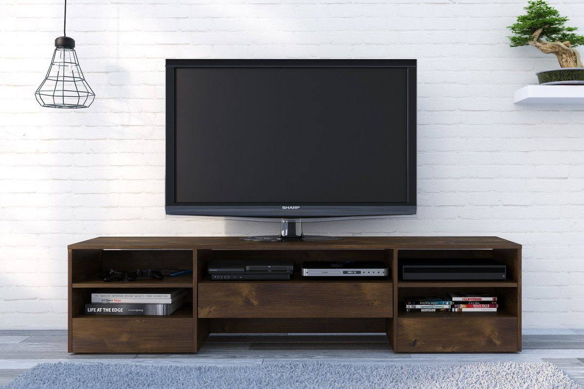 Winkelman Tv Stand For Tvs Up To 78 Tv Stand Wood Wooden Tv