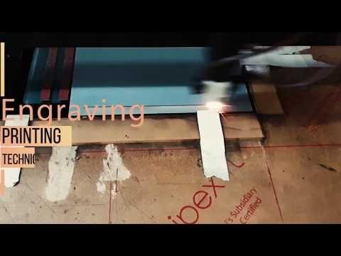 Engraving Printing on Invitation Cards   123WeddingCards - YouTube