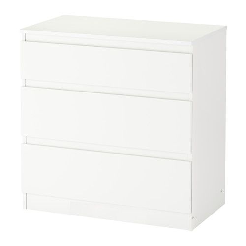 kullen ladekast 3 lades wit ladekast lades en ikea. Black Bedroom Furniture Sets. Home Design Ideas