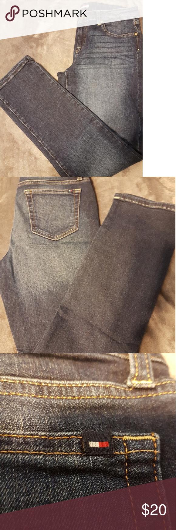 NWOT TOMMY Hilfiger jeans Tommy jeans size 10 Tommy Hilfiger Jeans Straight Leg