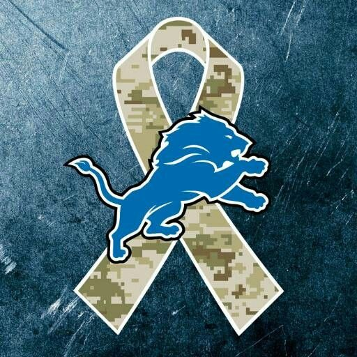 hot sale online 97833 dcd9b Detroit Lions military appreciation | Michigan - Home Sweet ...