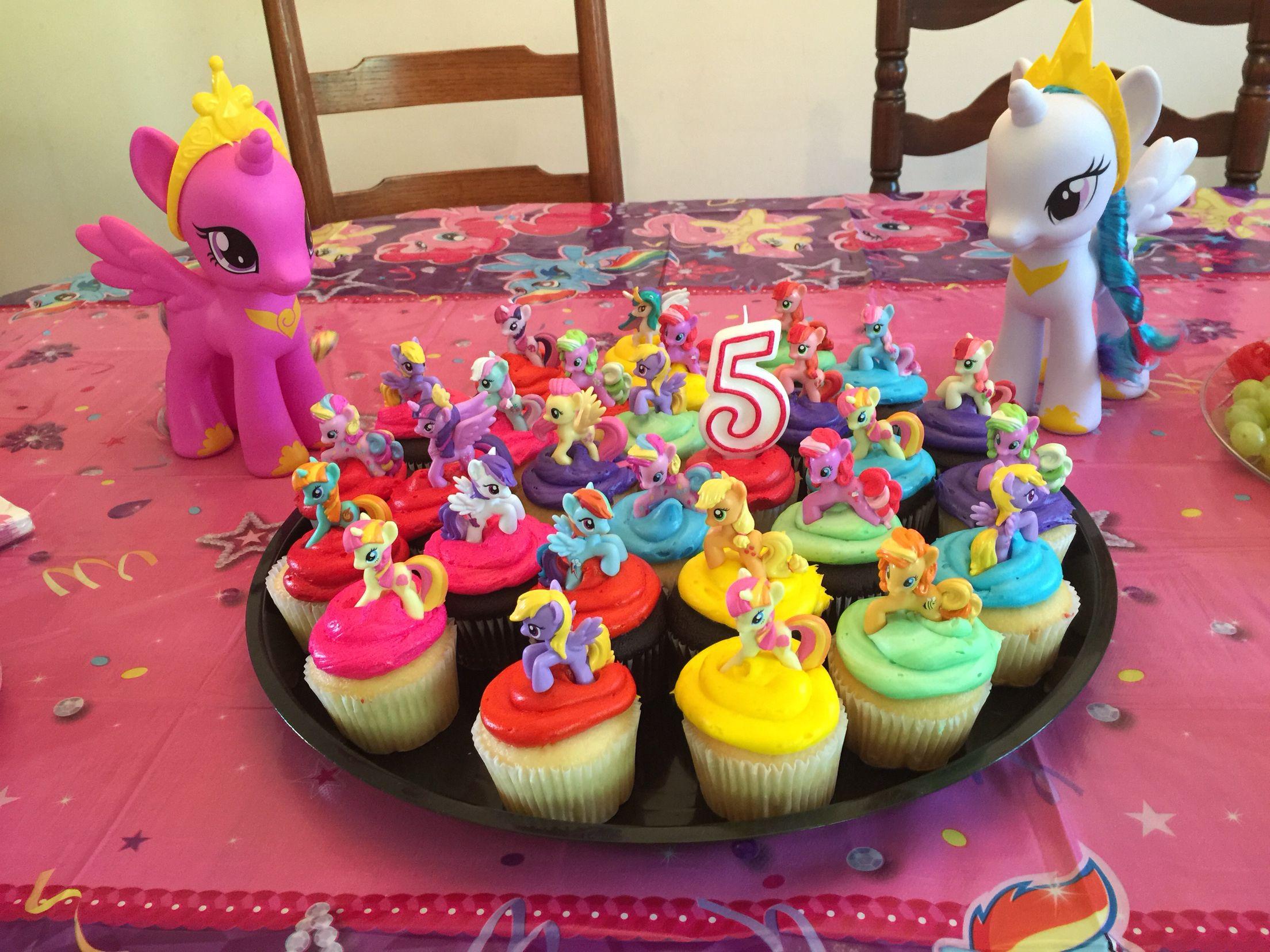 Lyrics My Little Pony cupcakes I had the cupcakes made at Kroger