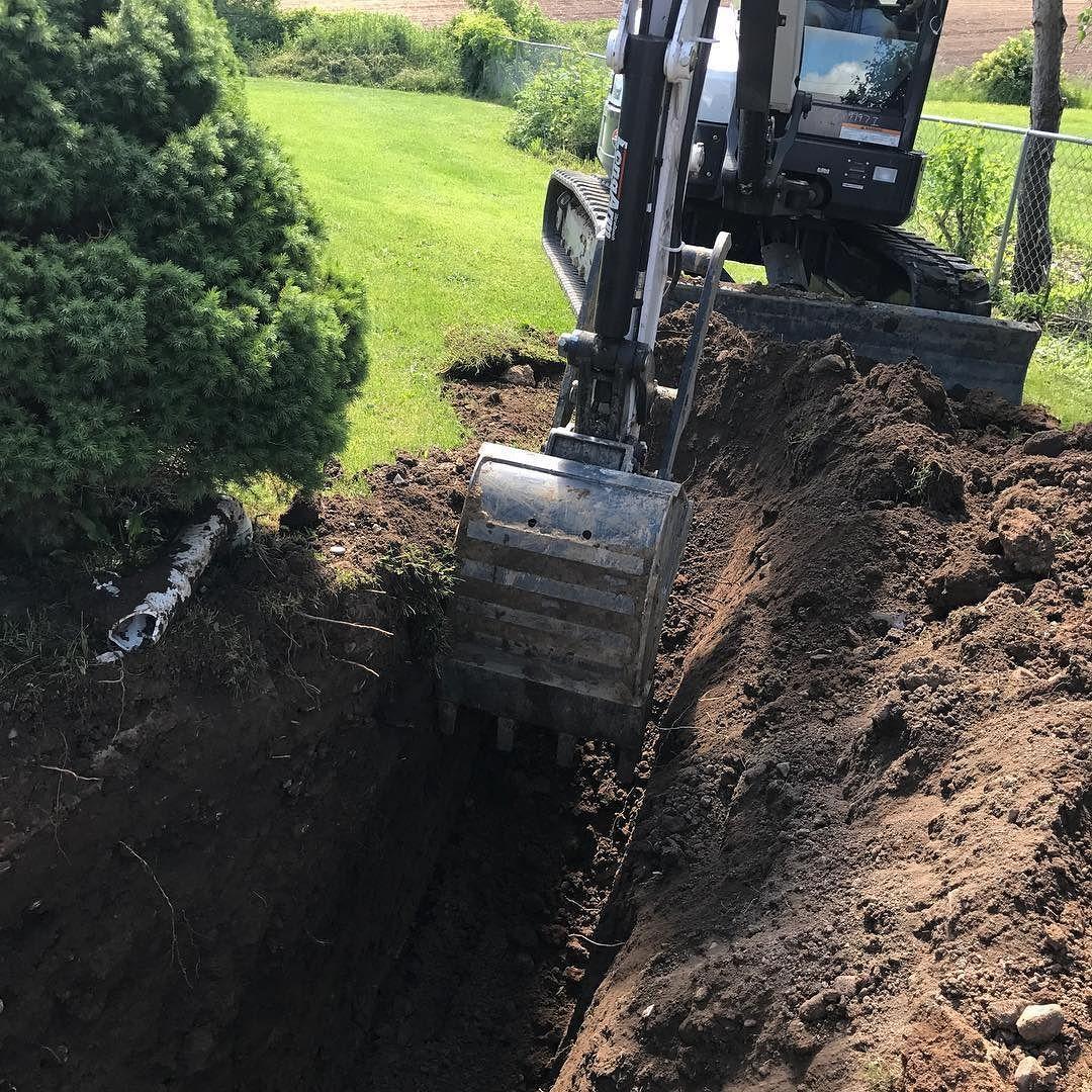 Excavation Drainage Gravity Sump Discharge syracuseny