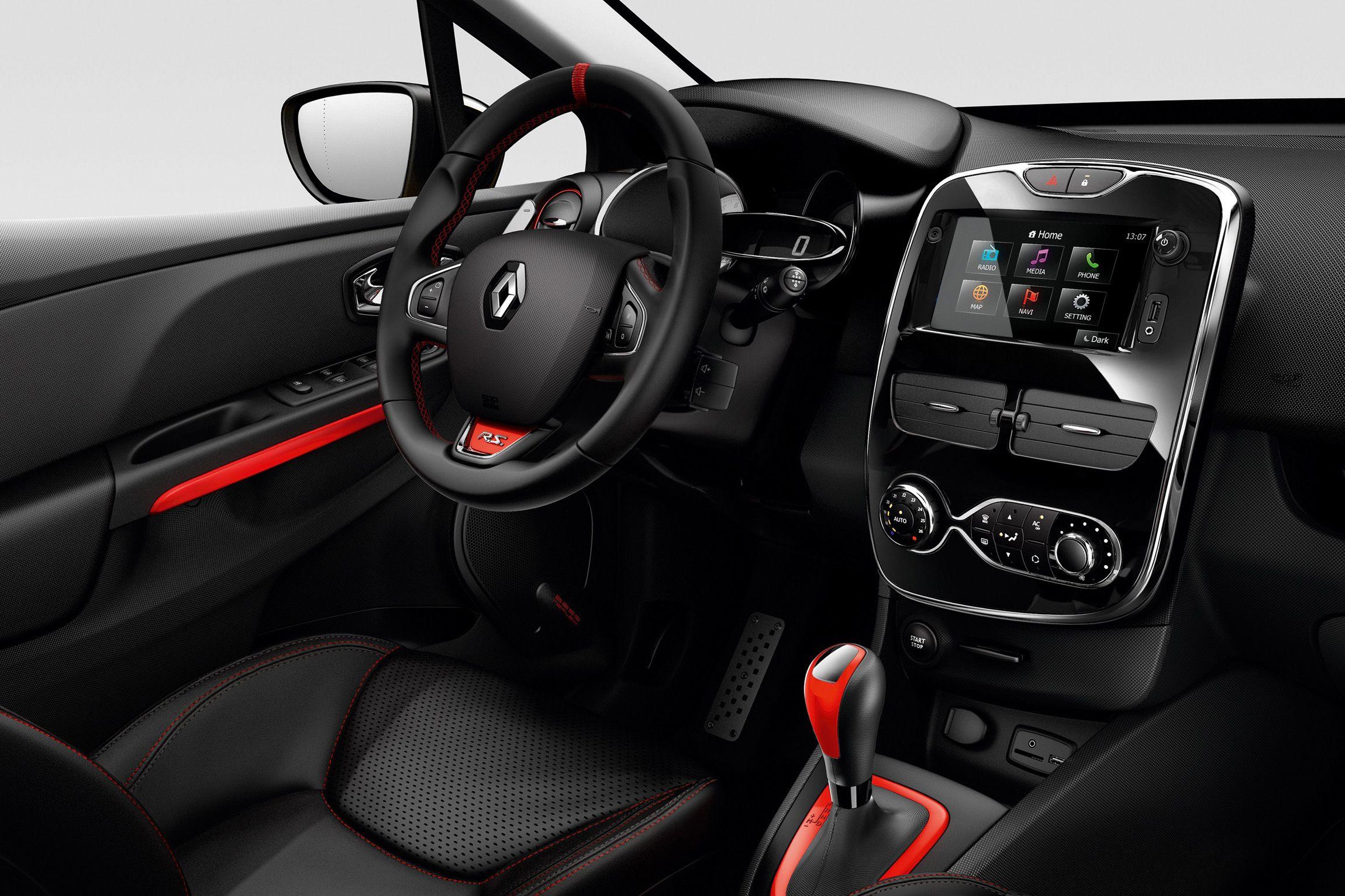 interieur | Clio 4 RS interieur | Autos | Pinterest