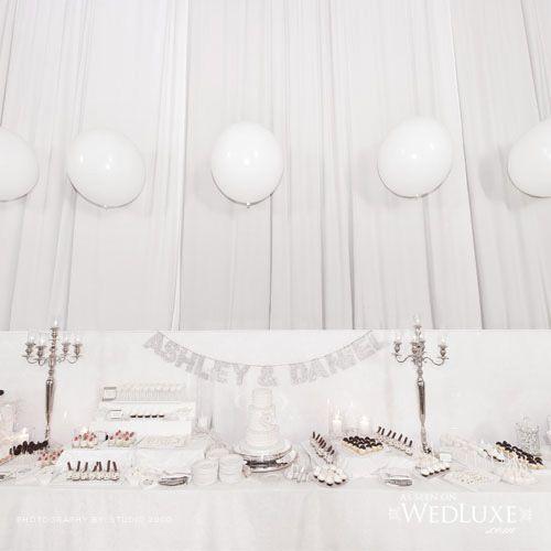 Wedluxe Wedding | Ashley and David