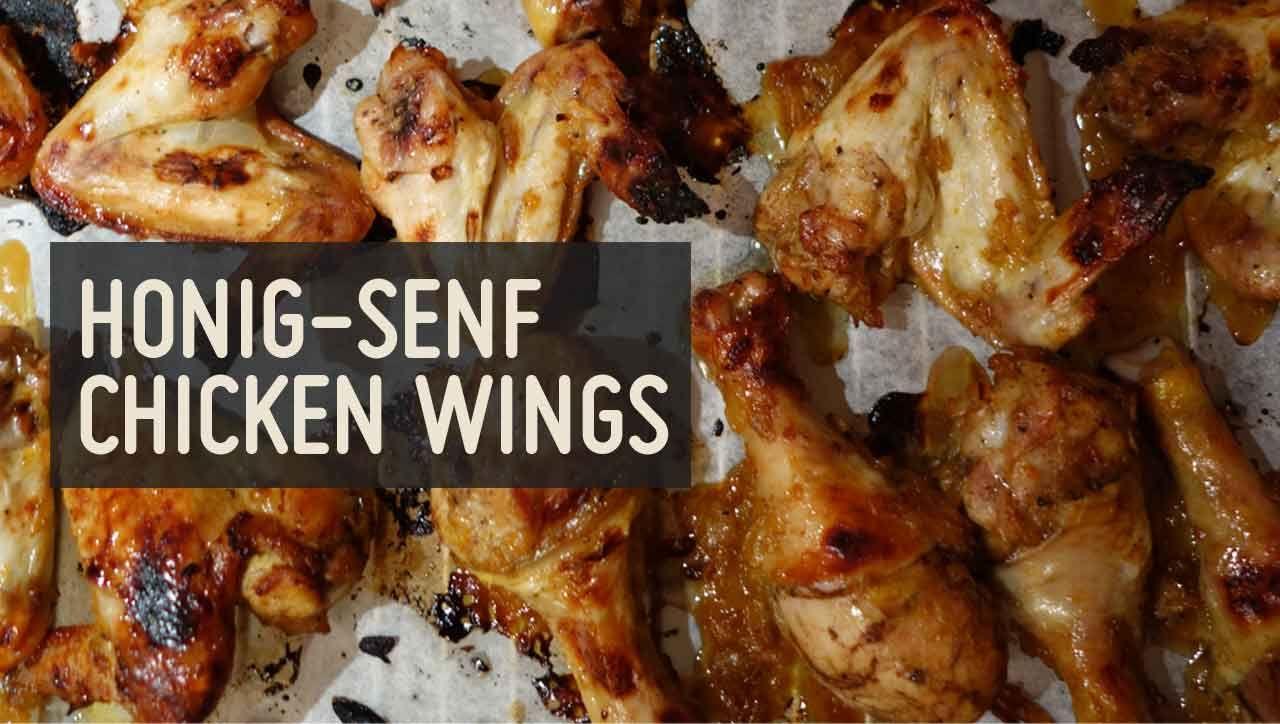 Honig Senf Chicken Wings Rezept Silvester Pinterest