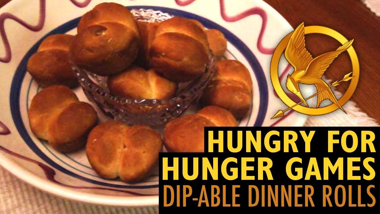 Hungry for Hunger Games: Dip-able Dinner Rolls