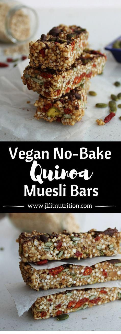 No Bake Muesli Bars | Healthy, vegan, gluten-free, dairy-free, refined sugar-free no bake muesli ba