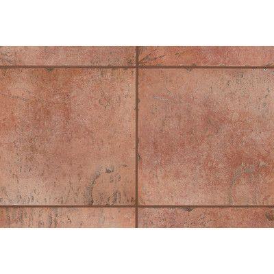 """Decorative Bullnose Tile Trim Mohawk Flooring Quarry Stone 12"""" X 3"""" Bullnose Tile Trim In Terra"""
