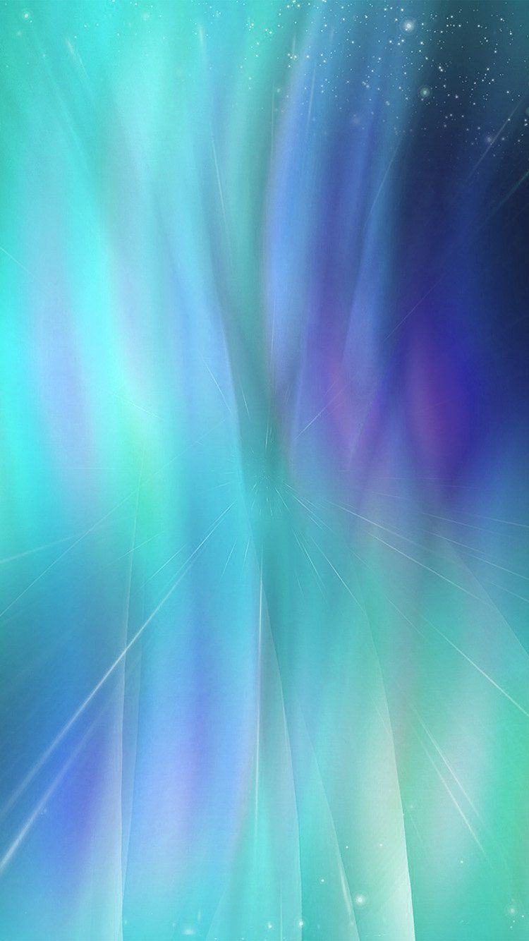 Fantasy Green Blue Abstract Pattern Wallpaper Hd Iphone Abstract