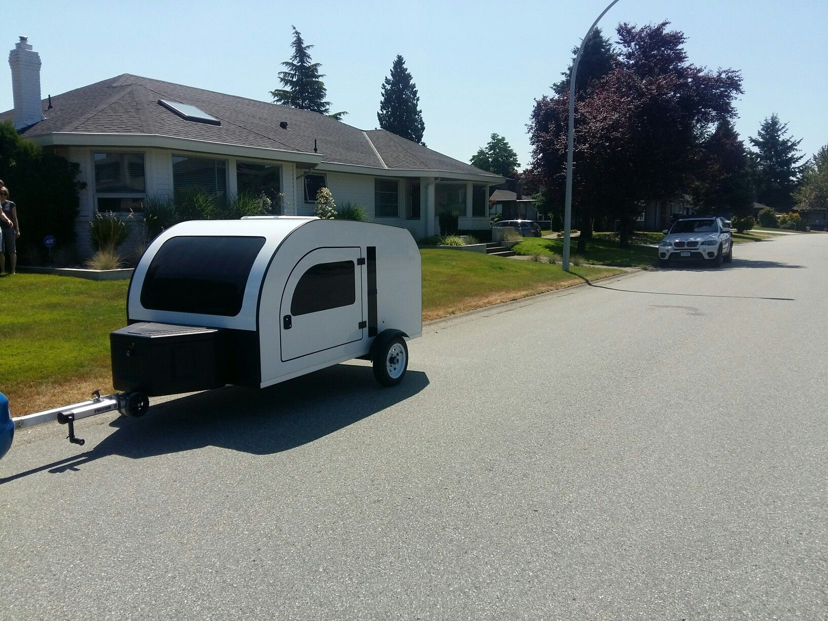 Discreet Street Sleeping Or Extra Bedroom For Guests DROPLET Is A Camping Pod But Also