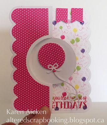 Altered Scrapbooking Birthday Flip It Duo Flip It Cards
