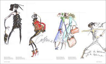 Fashion Illustration By Fashion Designers Illustration Fashion Illustration Fashion Drawing