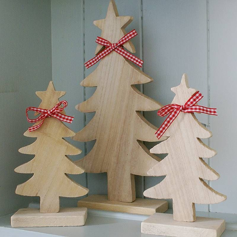 21 RUSTIC WOODEN DECORATION IDEAS TO GIVE A VINTAGE LOOK Wooden - wood christmas decorations