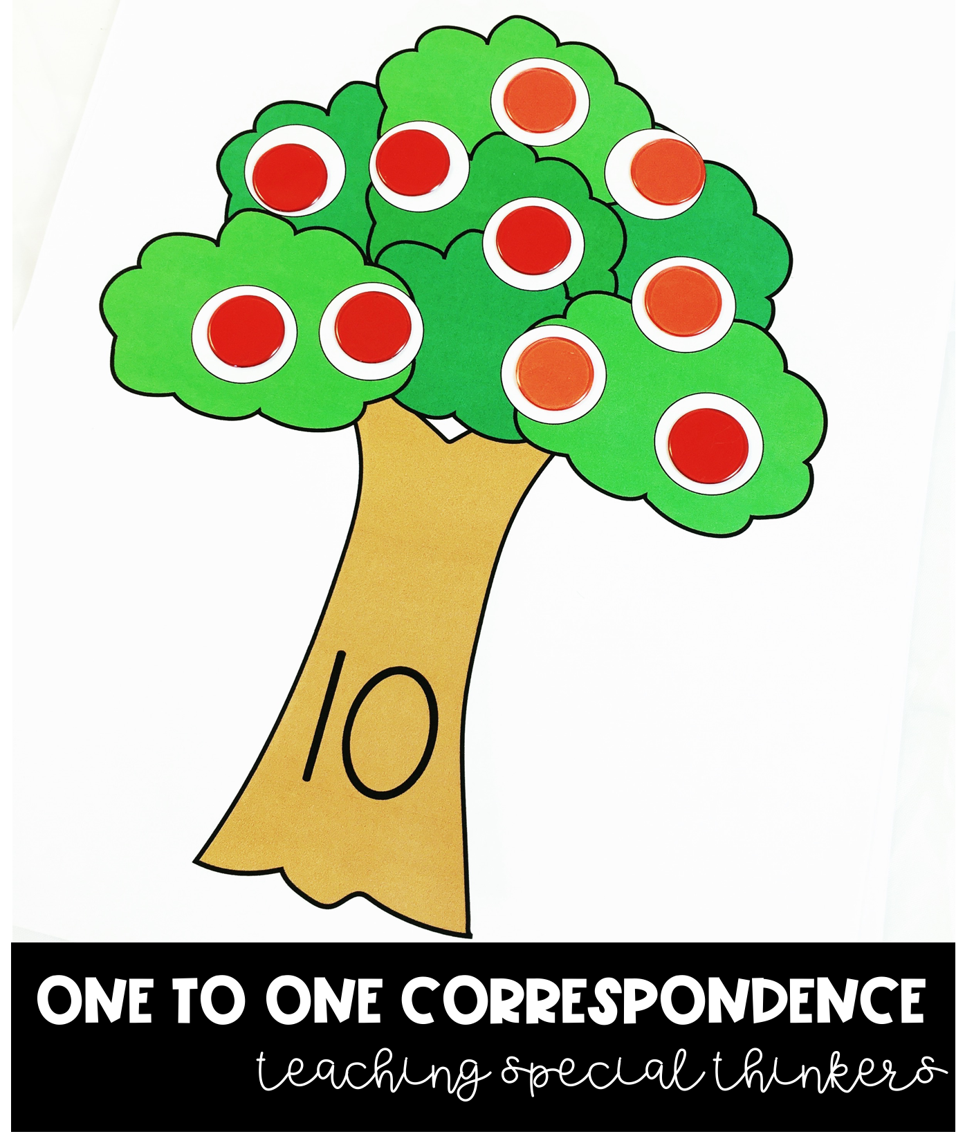One To One Correspondence Activity Pack Counting Amp Number