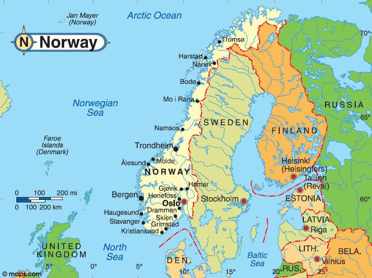 Pin by Tamara Menees on Norway Pinterest Norway map Oslo and