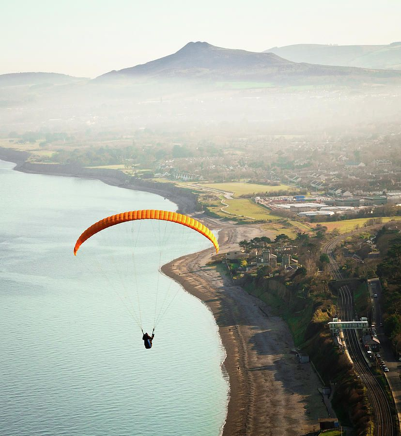 Paragliding Off Killiney Hill | To do list | Hang gliding