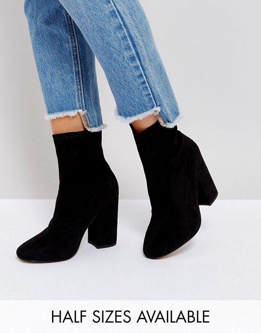 code promo ba003 8a4d8 ELABORATE - Bottines effet chaussettes | Look | Boots, Shoes ...