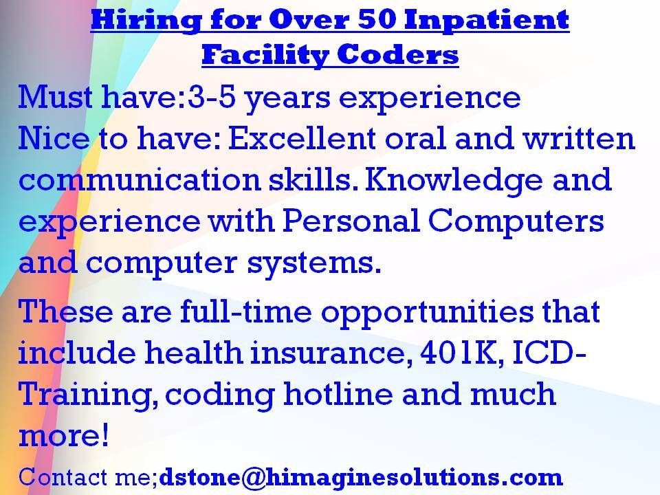 email resume to dstone@himaginesolutions Medical Coding Jobs - how to email a resume