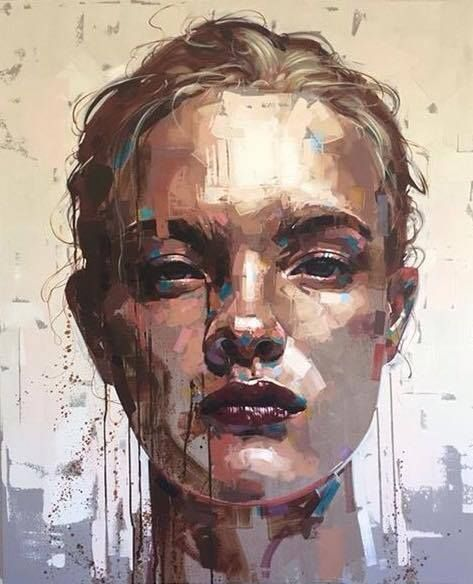 Do This On My Oil Paper Portrait Painting Art Contemporary Art Painting
