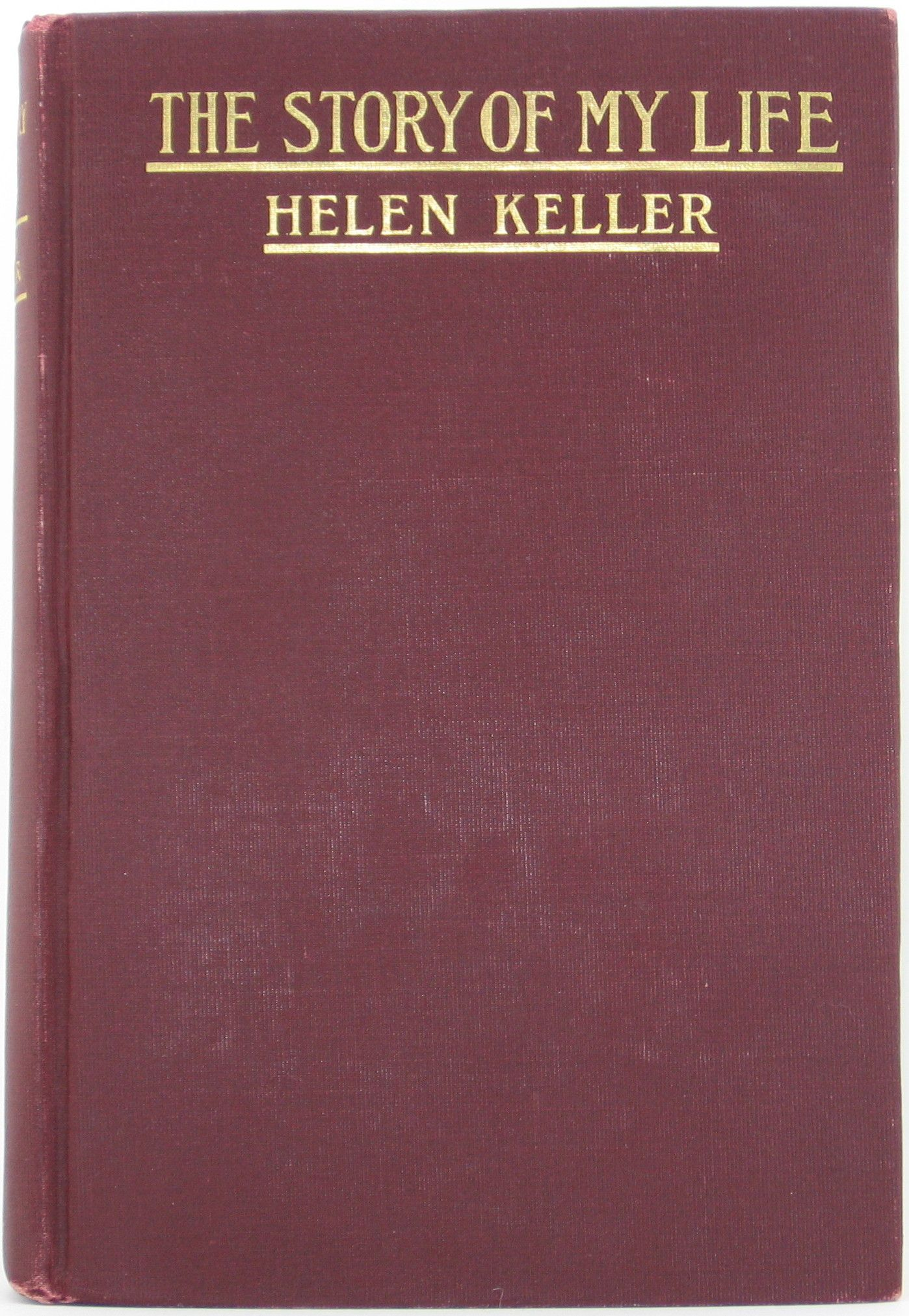 1903 1st Edition Helen Keller The Story Of My Life Vg Illustrated