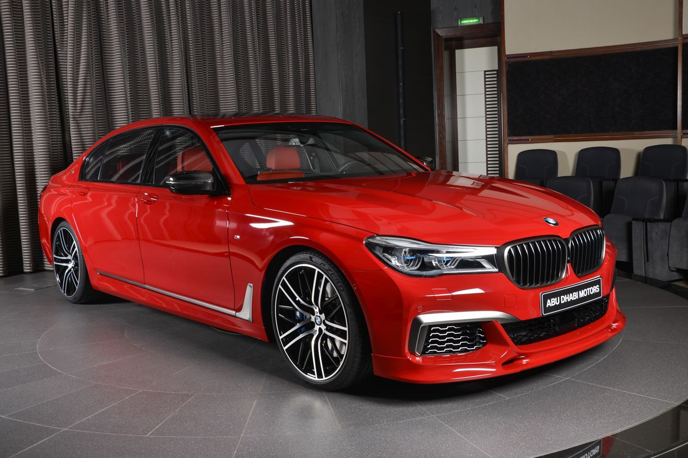 Imola Red BMW M760Li Could Brighten Up Anyone's Day | Carscoops