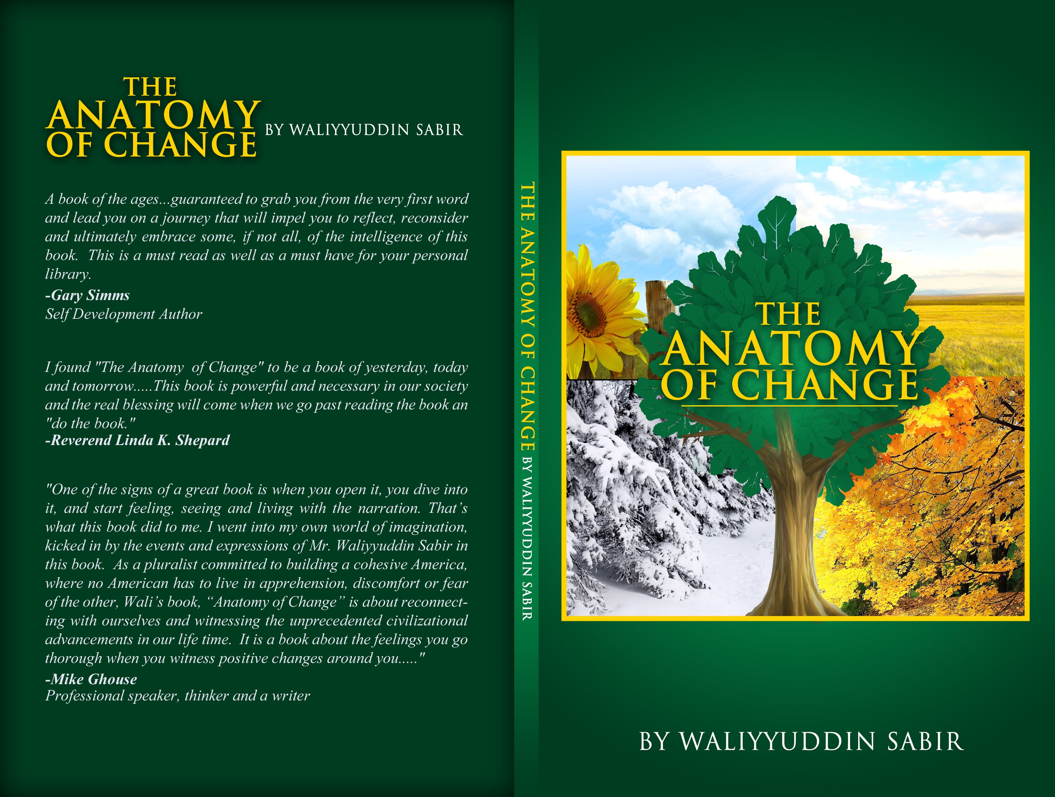book cover design the anatomy of change book cover design - Book Cover Design Ideas