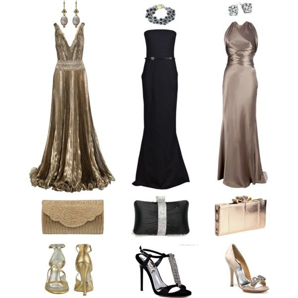 Minus the heels i 39 d wear any of these to a black tie for Long dresses for black tie wedding