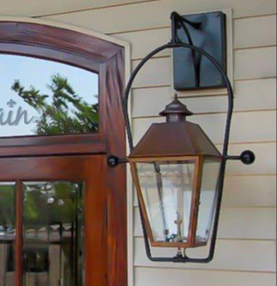 Copper Lantern Pendant Light Copper Light Fixture Rustic Outdoor Lantern Antique Vintage Modern Gas Outdoor Light Fixtures Copper Lantern Copper Lighting