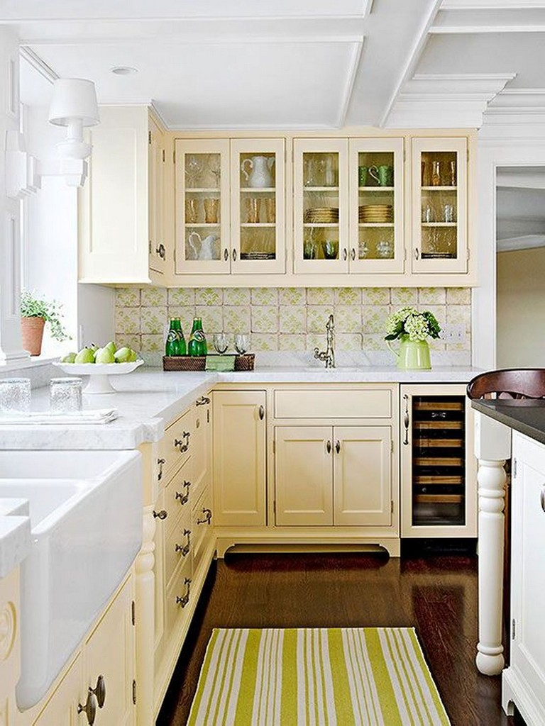 50+ Lovely Cottage Kitchen Design Ideas #kitchen # ...