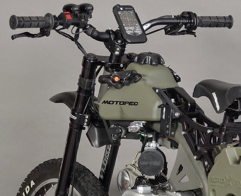 Coolest Zombie-Ready Motoped EVER!