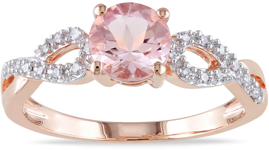 #Overstock                #ring                     #Miadora #Rose #Gold #Morganite #1/10ct #Diamond #Ring #(H-I, #I2-I3) #Overstock.com                    Miadora 10k Rose Gold Morganite and 1/10ct TDW Diamond Ring (H-I, I2-I3) | Overstock.com                                          http://www.seapai.com/product.aspx?PID=1771742