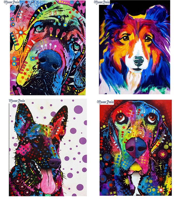 Dog 5D Special Diamond Painting Embroidery Cross Stitch Kit DIY Craft Wall Deocr
