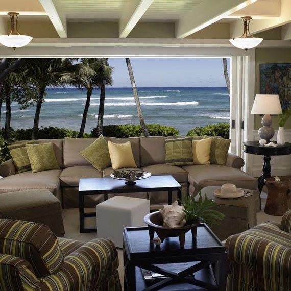 Hawaiian Home Decor, Beach House Interior