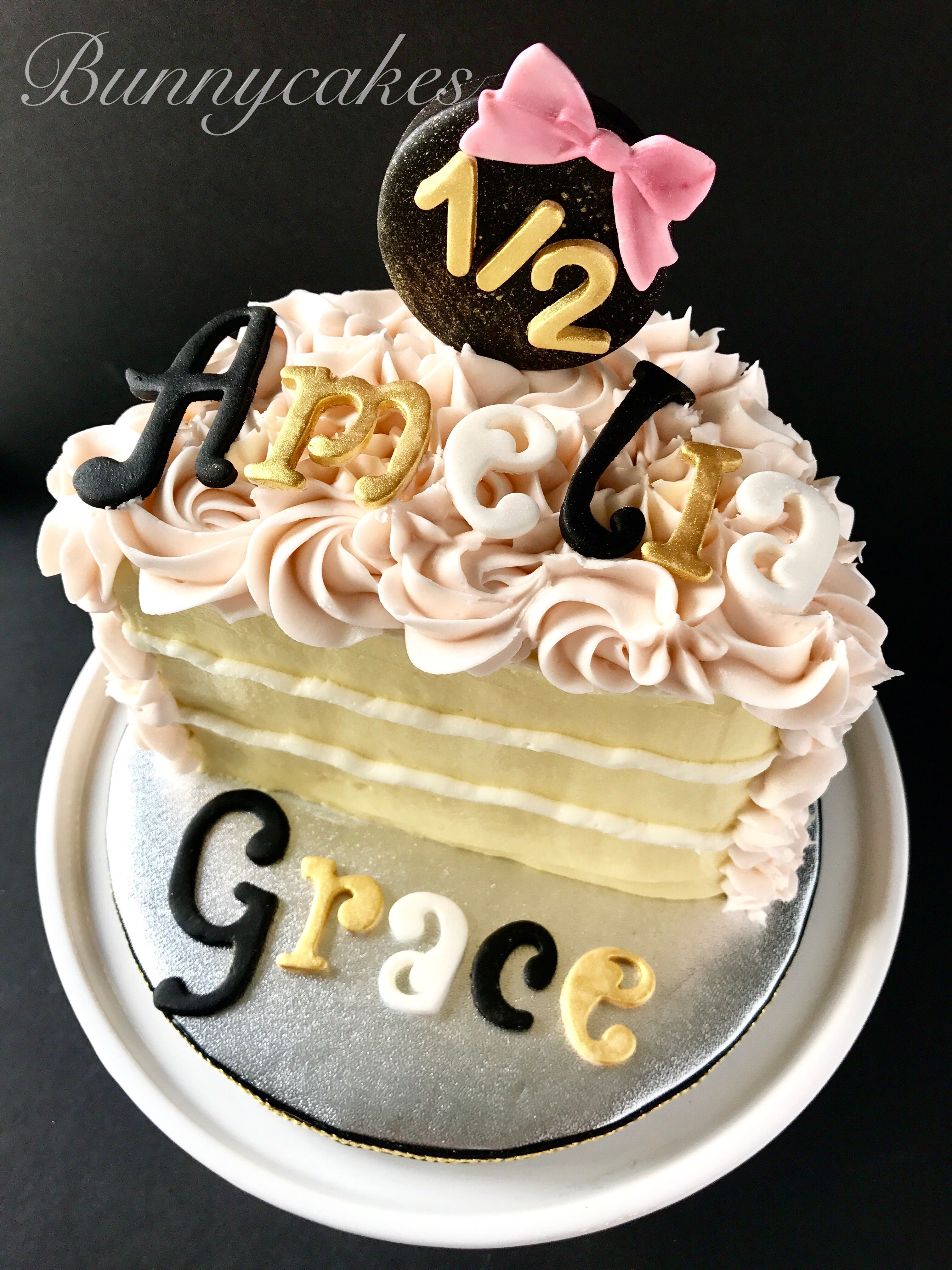 little girl birthday cake with name