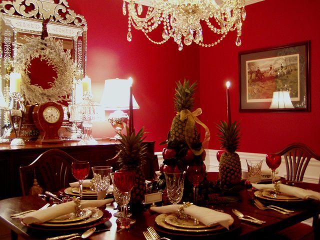 Colonial williamsburg table setting williamsburg christmas tree christmas tea solutioingenieria Images