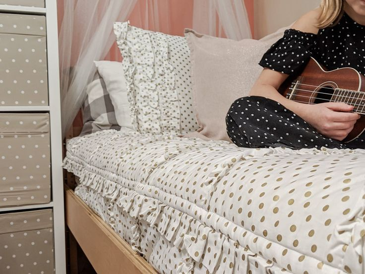 Our New Zip-Up Bedding from Beddy's