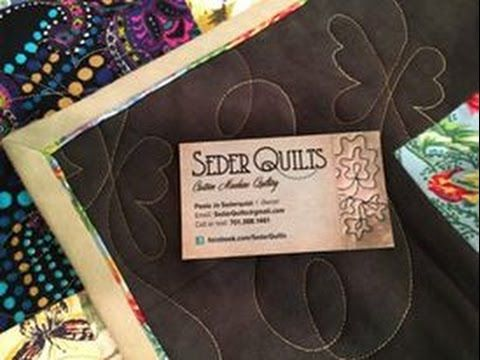 How to bind a quilt with a sewing machine. Quick and easy way to ... : how to bind a quilt video - Adamdwight.com