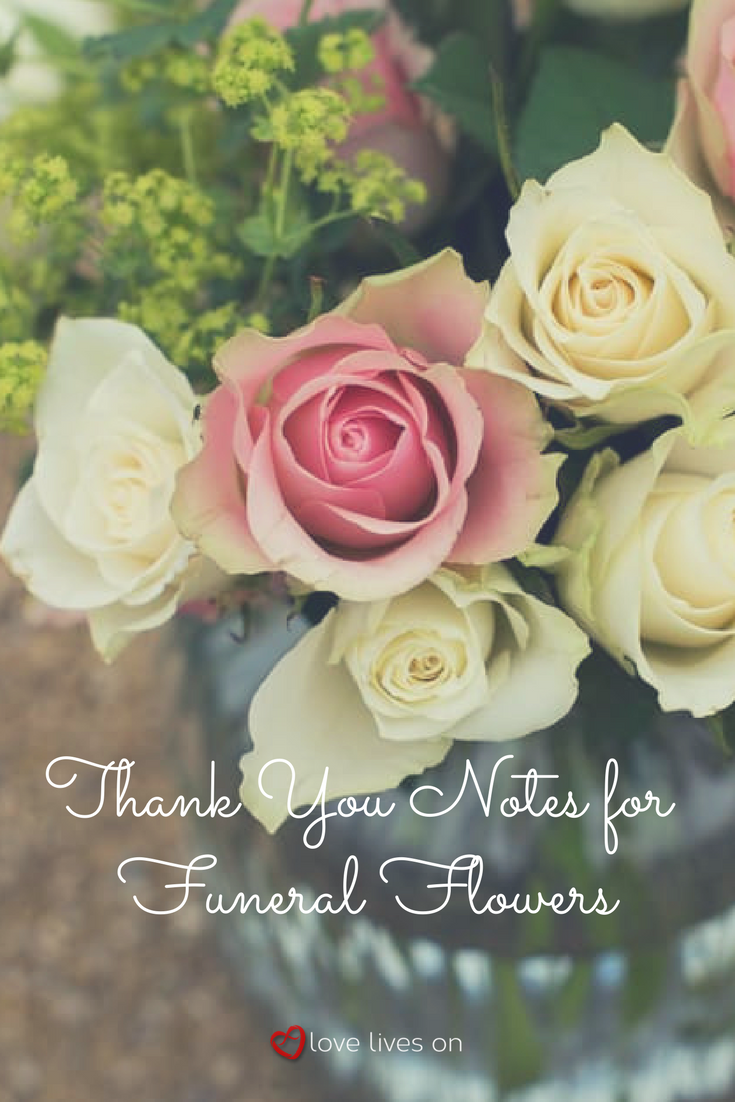 33 best funeral thank you cards thank you notes pinterest use our free wording samples for thank you notes for funeral flowers to to express your gratitude to friends and family who sent sympathy funeral flowers izmirmasajfo