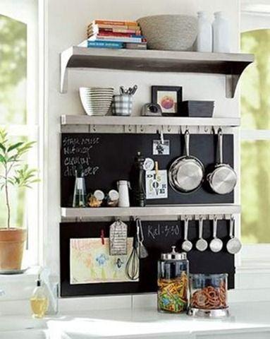Consejos para Cocinas Pequeñas Ideas para el hogar Pinterest - estantes para cocina