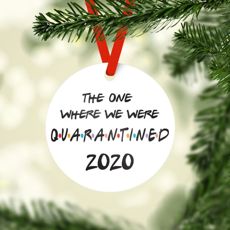 Quarantined Gift for Teacher 2020 The One Where They Were