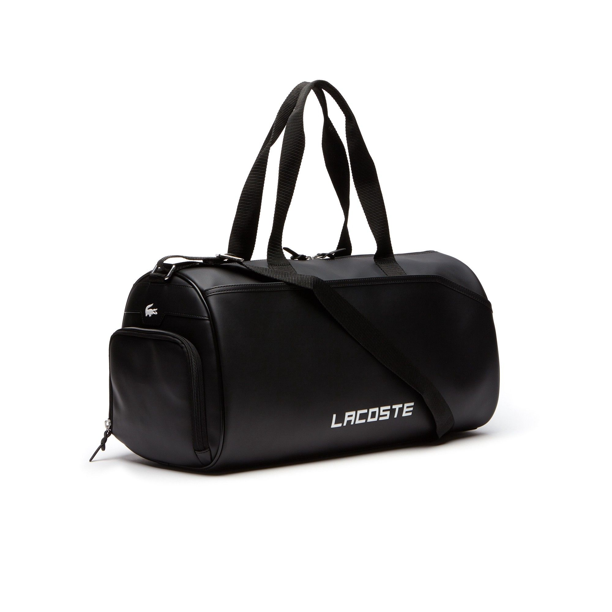 edf6f232 Lacoste Men's Sport Ultimum Lettering Roll Bag - Black | Products in ...