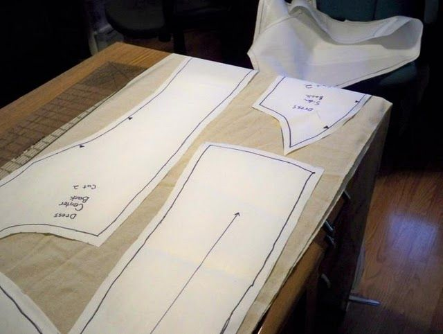 How to make your own pattern from a piece of clothing. | A Cosplay ...