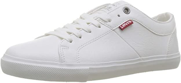 Levi's Woods W Sneakers Damen Weiß