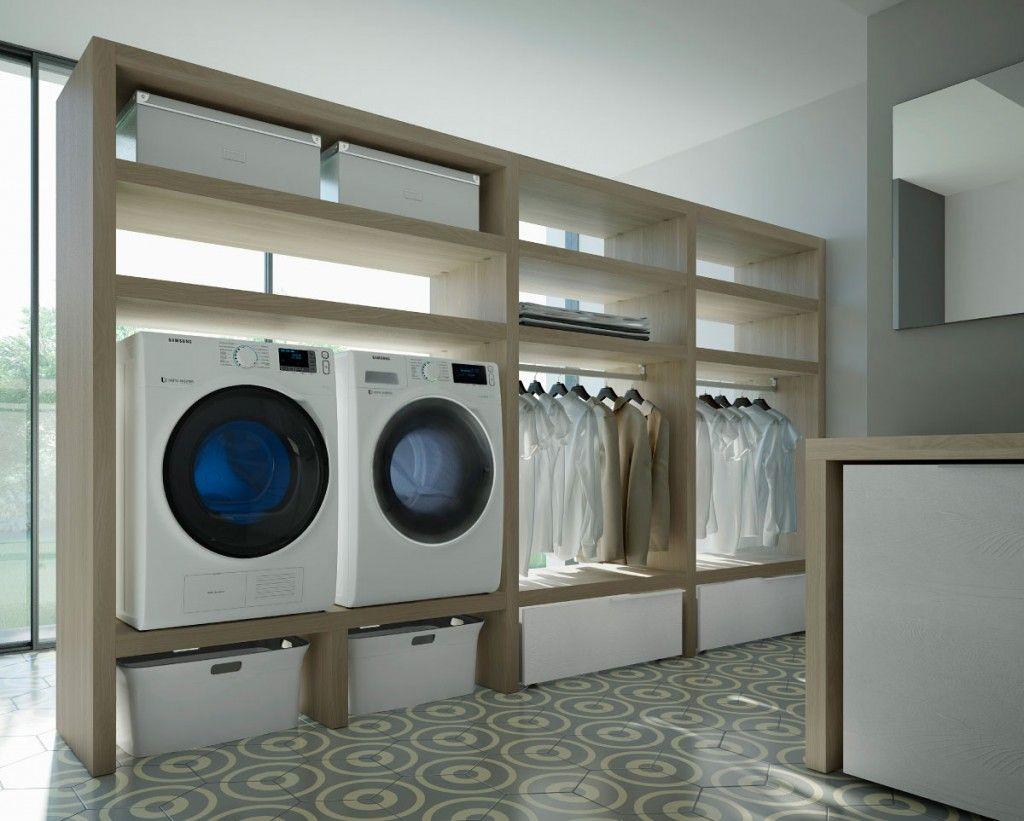 mobili per lavanderia spazio time | laundry - Arredo Bagno Lavanderia Casa