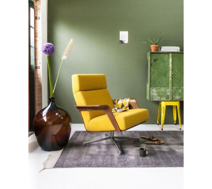 De mooiste gele fauteuils om mee te pronken in de woonkamer ...