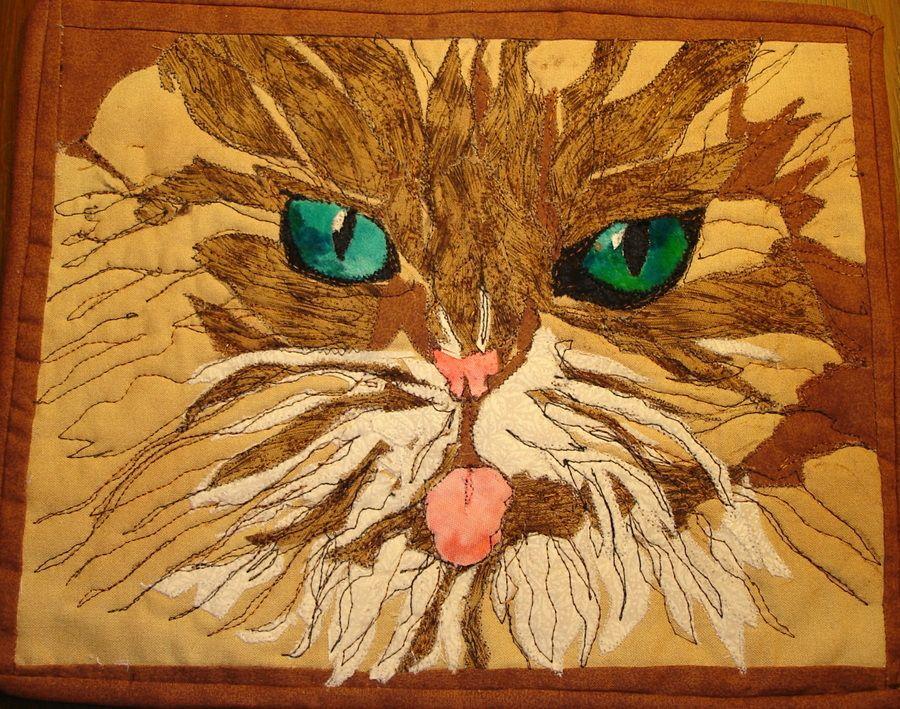 Cat Quilt To Go With Alysha Cauffman Schmidt Bosetti S Bathroom Decorations