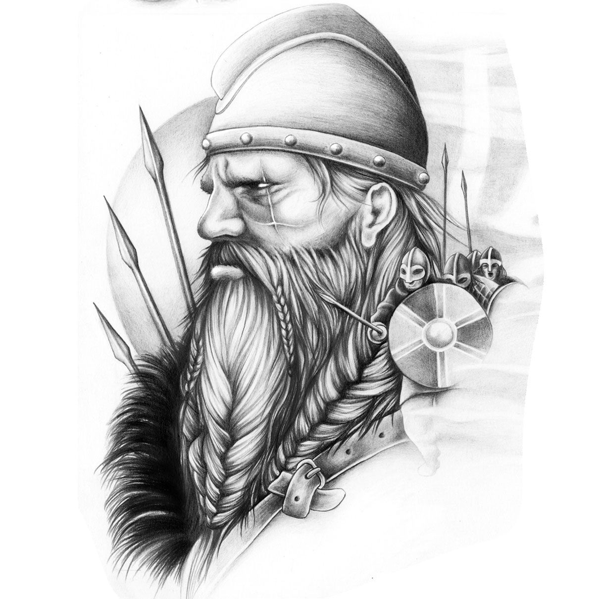 Start Your Design Custom Tattoo Design Warrior Tattoos Viking Warrior Tattoos Viking Tattoos