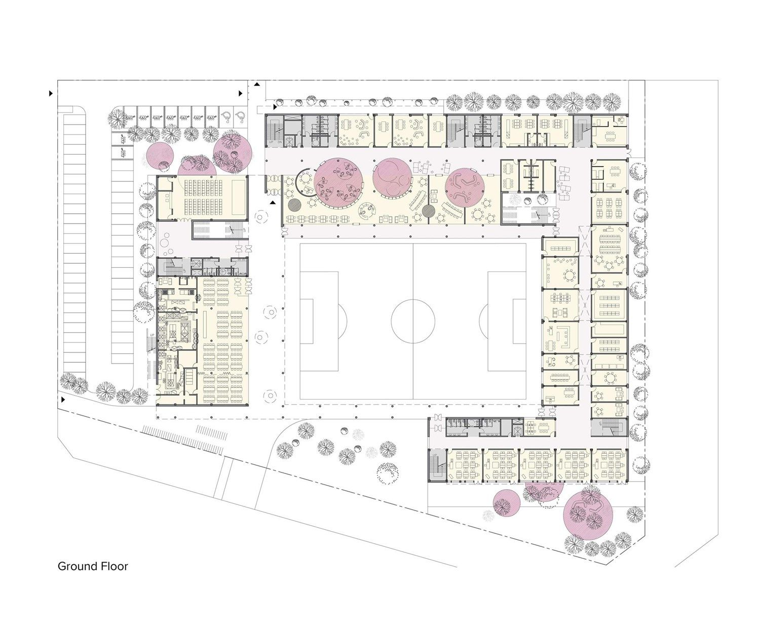 Competition design for a new elementary school in siheung for School project plan